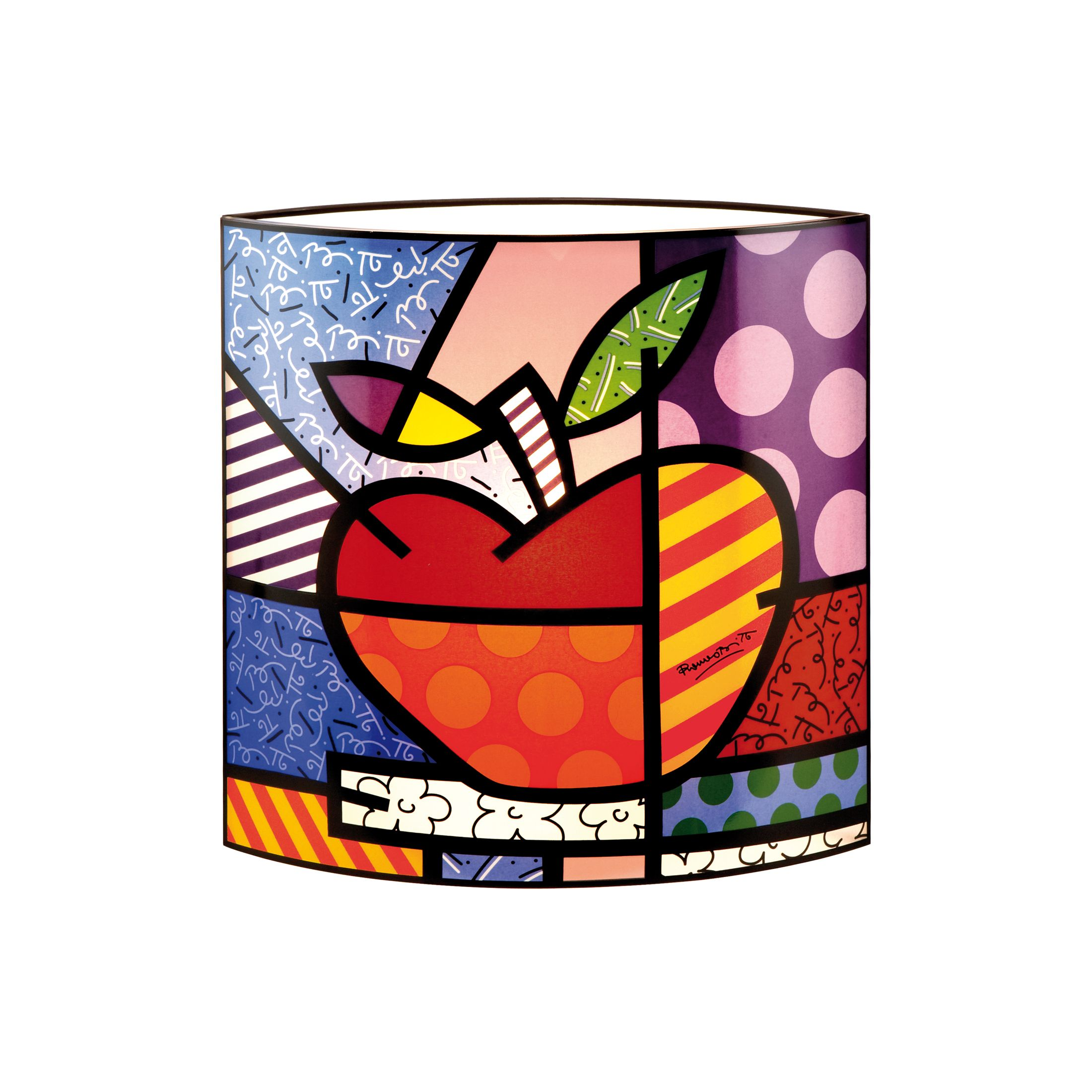 Lampe à poser Big Apple 25 x 25 cm Pop Art Romero Britto