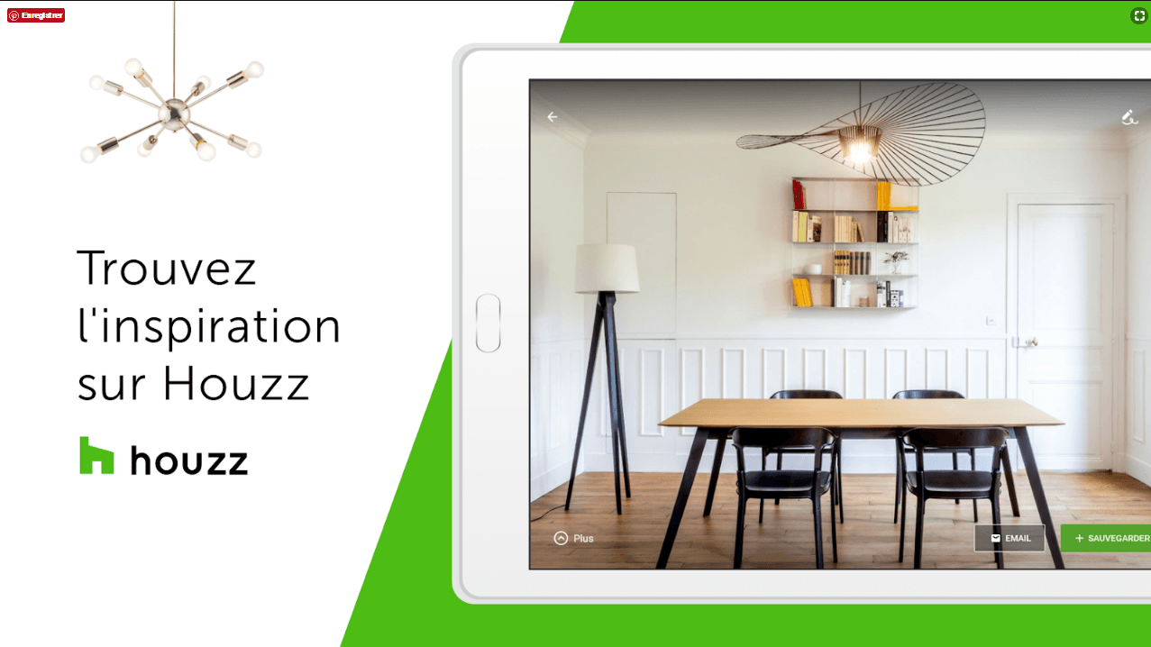 application houzz