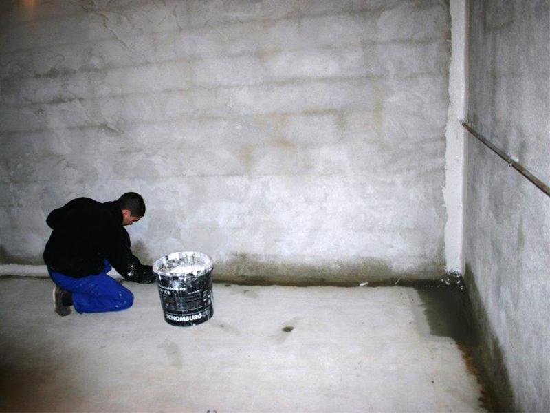 Cuvelage de cave et sous sols un traitement anti - Etancheite sous sol maison ...