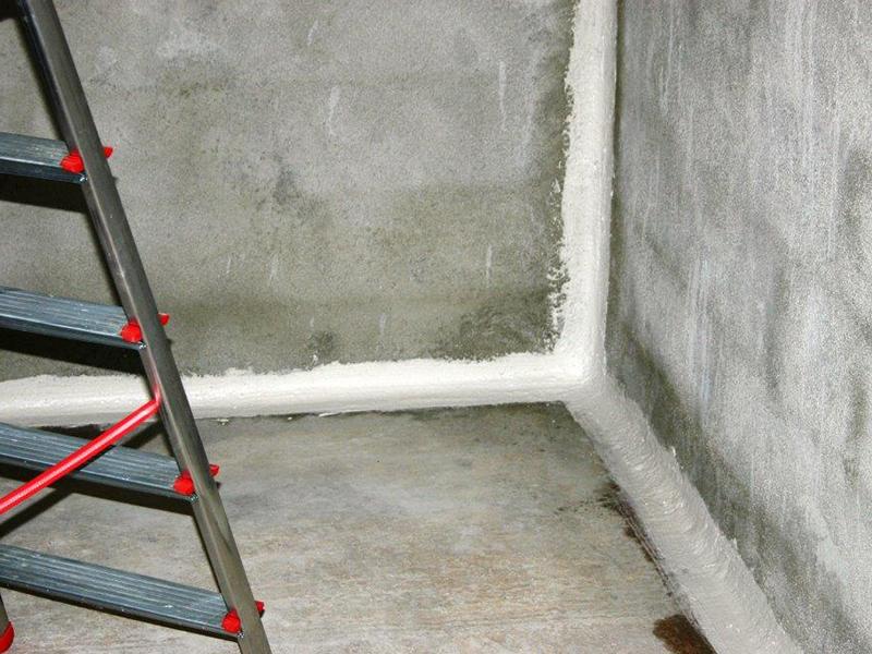 Cuvelage de cave et sous sols un traitement anti for Humidite interieur maison