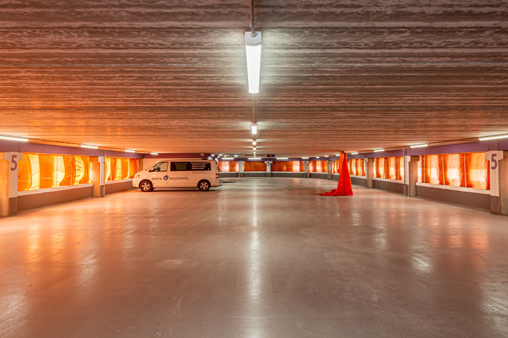 Lednovate Parkeergarage De Cope Utrecht 3 - Parkeergarage De Cope