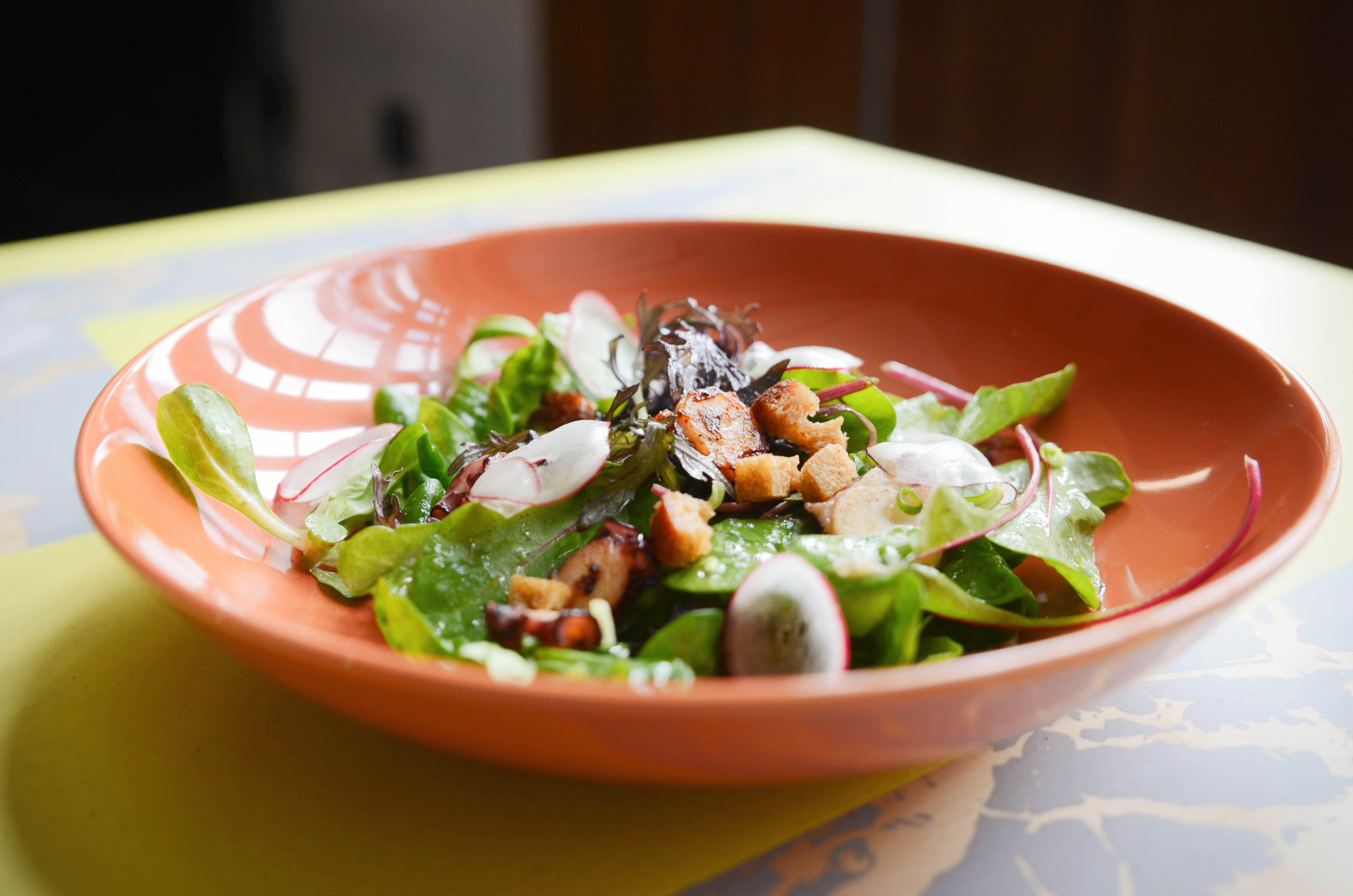 Salade poulpe de galice