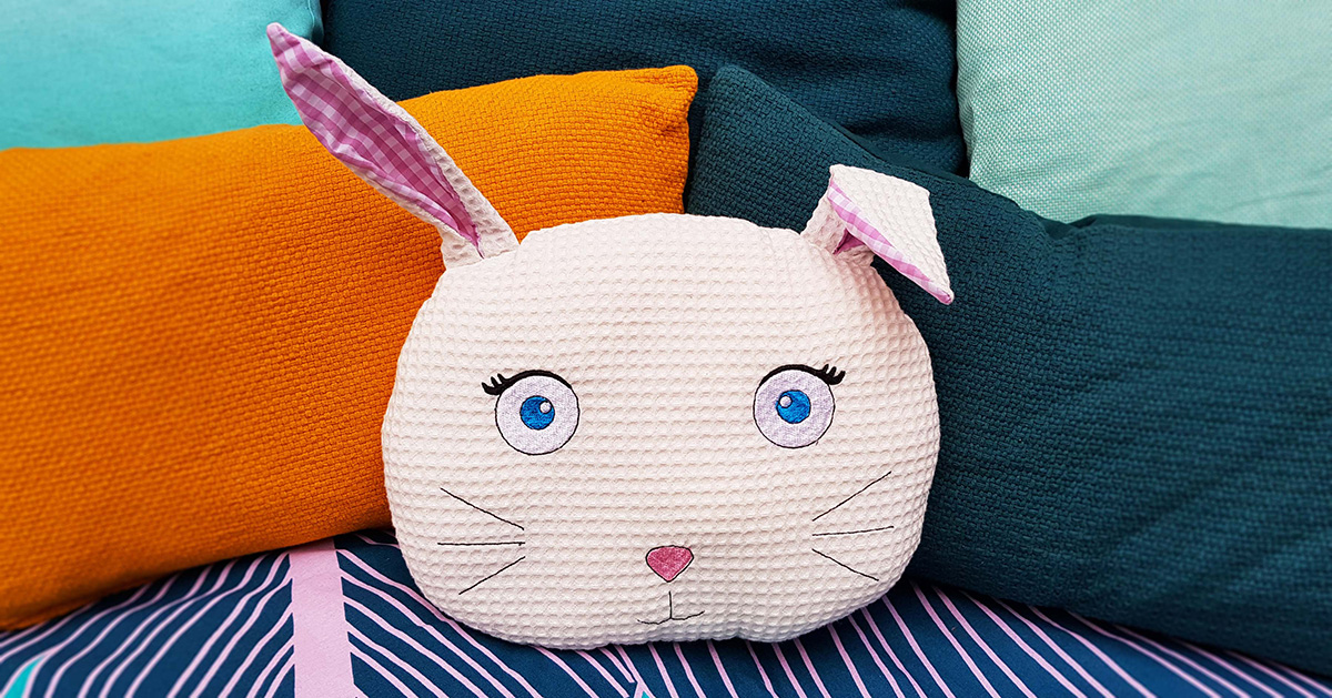 Coussin lapin light