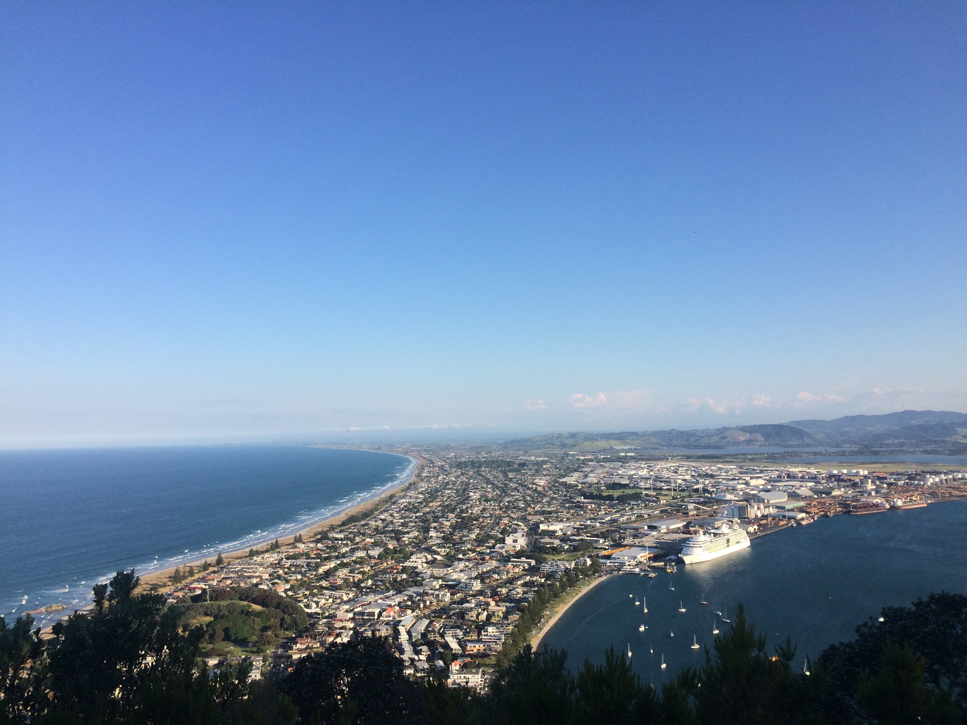 View Mt Maunganui east