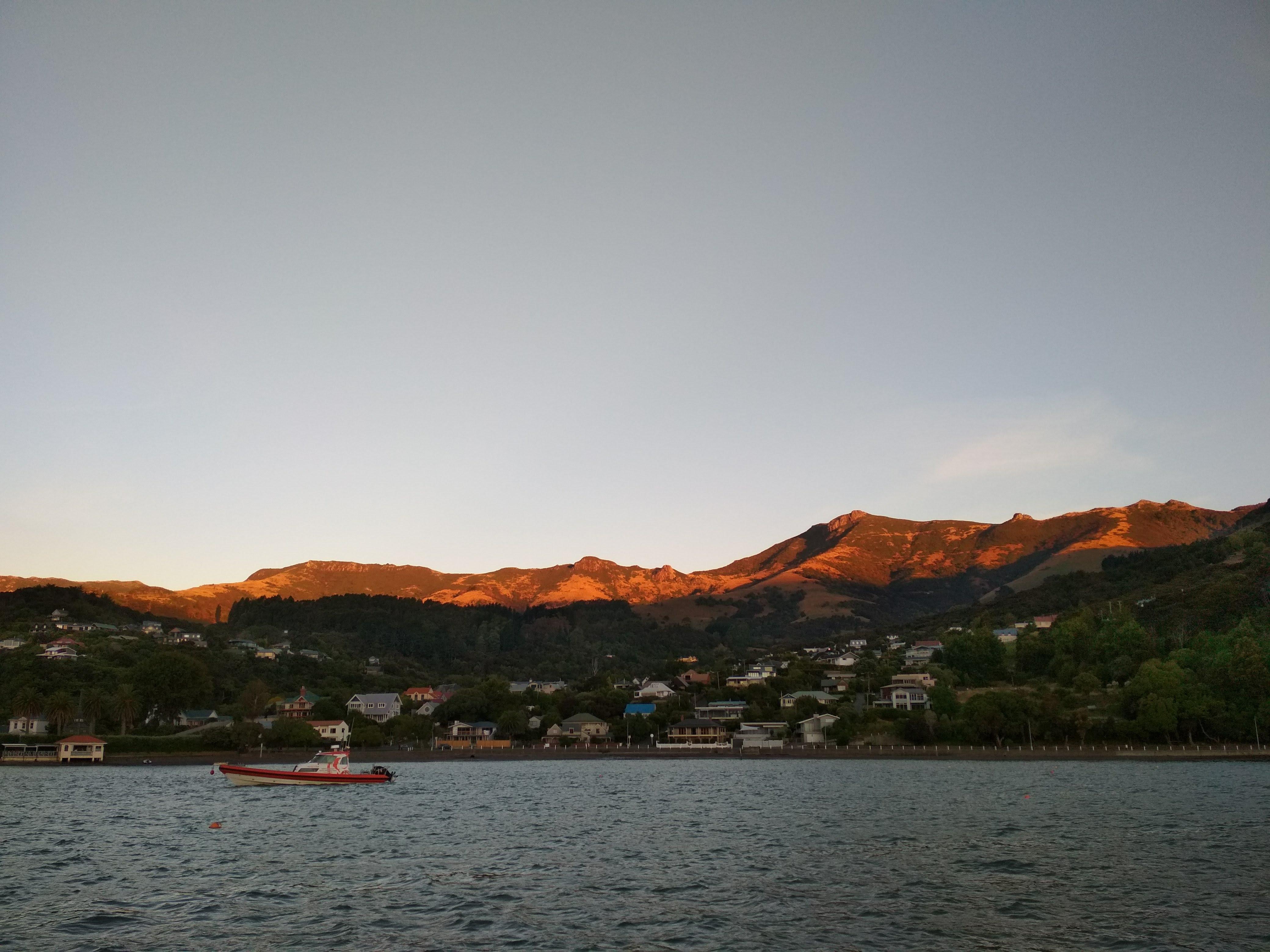 Akaroa Harbour Sunset