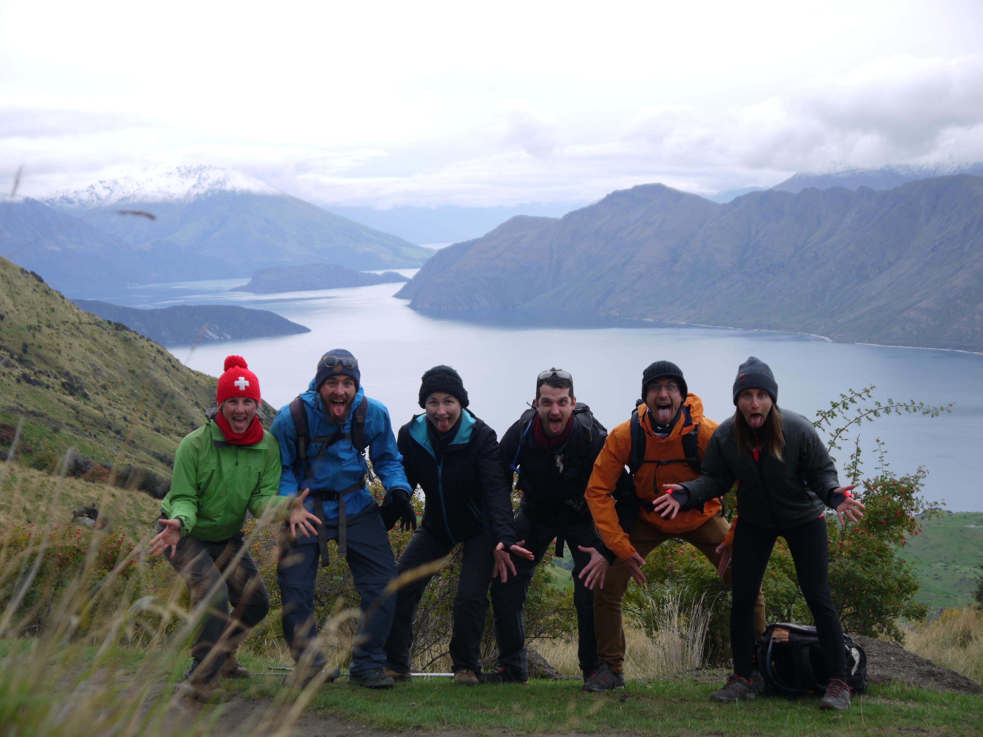 Wanaka hikers