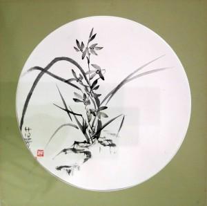 «Орхидея 1», тушь, бумага, D-43, 2005 г.