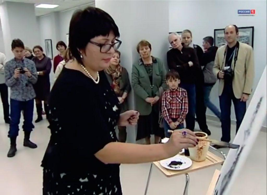 Ирина Левашева. Выставка в Светлогорске (Калининградская область)