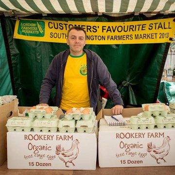 Rookery farm eggs