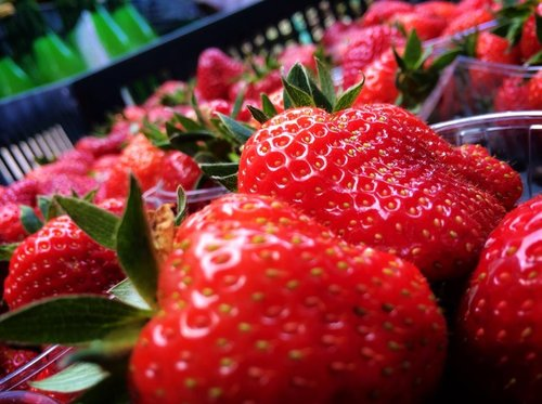 2014 Perry Court Farm first strawberries