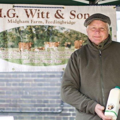 Midgham Farm, Nigel Witt