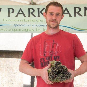 New Park farm asparagus