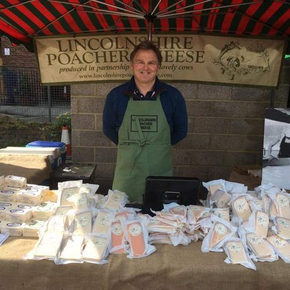 Lincolnshire Poachers cheese