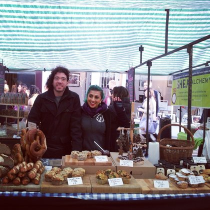 Hackney Deli Omar and Nell Aug 2013