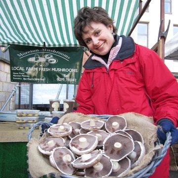 Moreton mushrooms portrail Wendy 2011 Marylebone