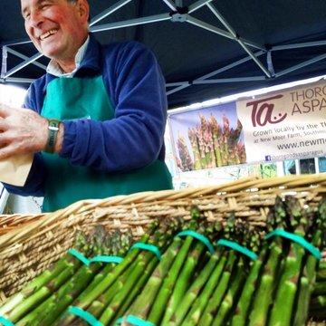 Pip Thoroughgood asparagus April 2014