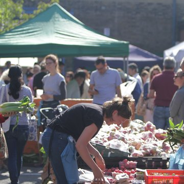 Queens Park farmers market