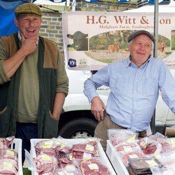 West Hill farmers market