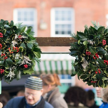 Christmas and New Year markets