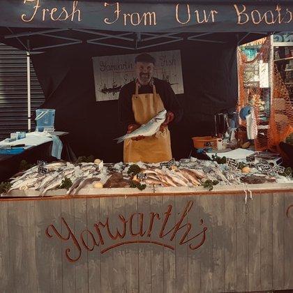 Martin Yarworth fresh fish