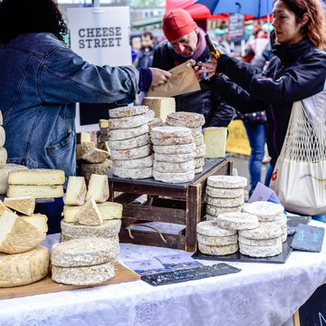 Cheese Street NW5 at Parliament Hill 28th April