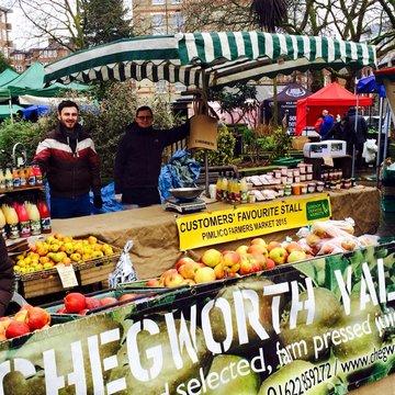 Pimlico Road farmers market