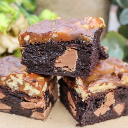 Lallapolosa brownies cu