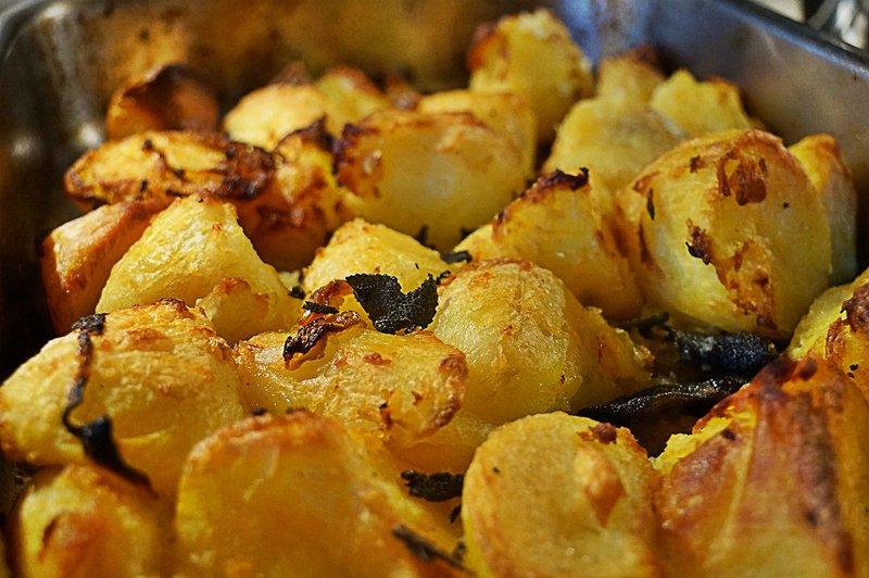 Roast Mayan Gold Potatoes