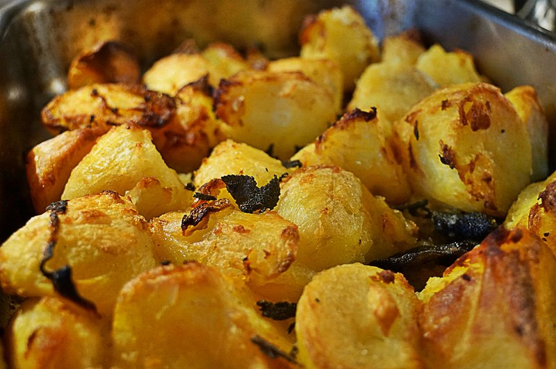 Roast Mayan Gold Potatoes