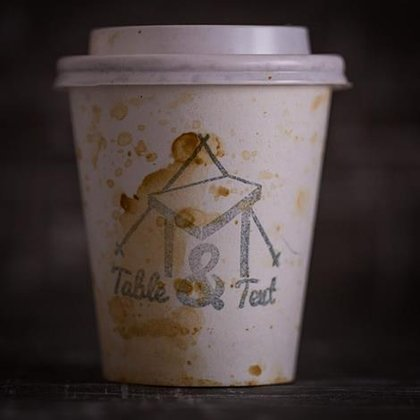 table and tent coffee