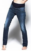 Noppies Jeans Comfort Lois / mit + am Oberschenkel /Damen Umstandsmode Hose 60029