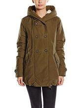 Noppies Damen Parka Umstands Jacke Jacket Abby, Gr. 38 (Herstellergröße: M), Grün (Dark olive C195)