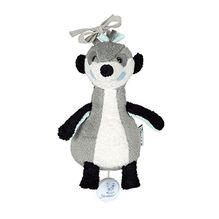 Sterntaler 6001622 - Spieluhr Elvis, S, grau/weiß/schwarz/mint
