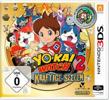 Yo-Kai Watch 2: Kräftige Seelen inklusive Medaille Nintendo 3DS
