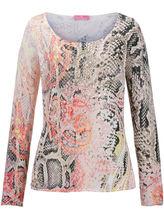 Rundhals-Pullover Basler mehrfarbig Größe: 50