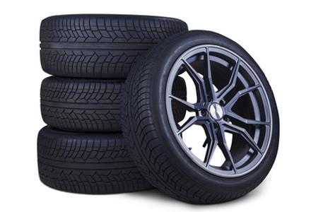 Reifen und Felgen namhafter Hersteller