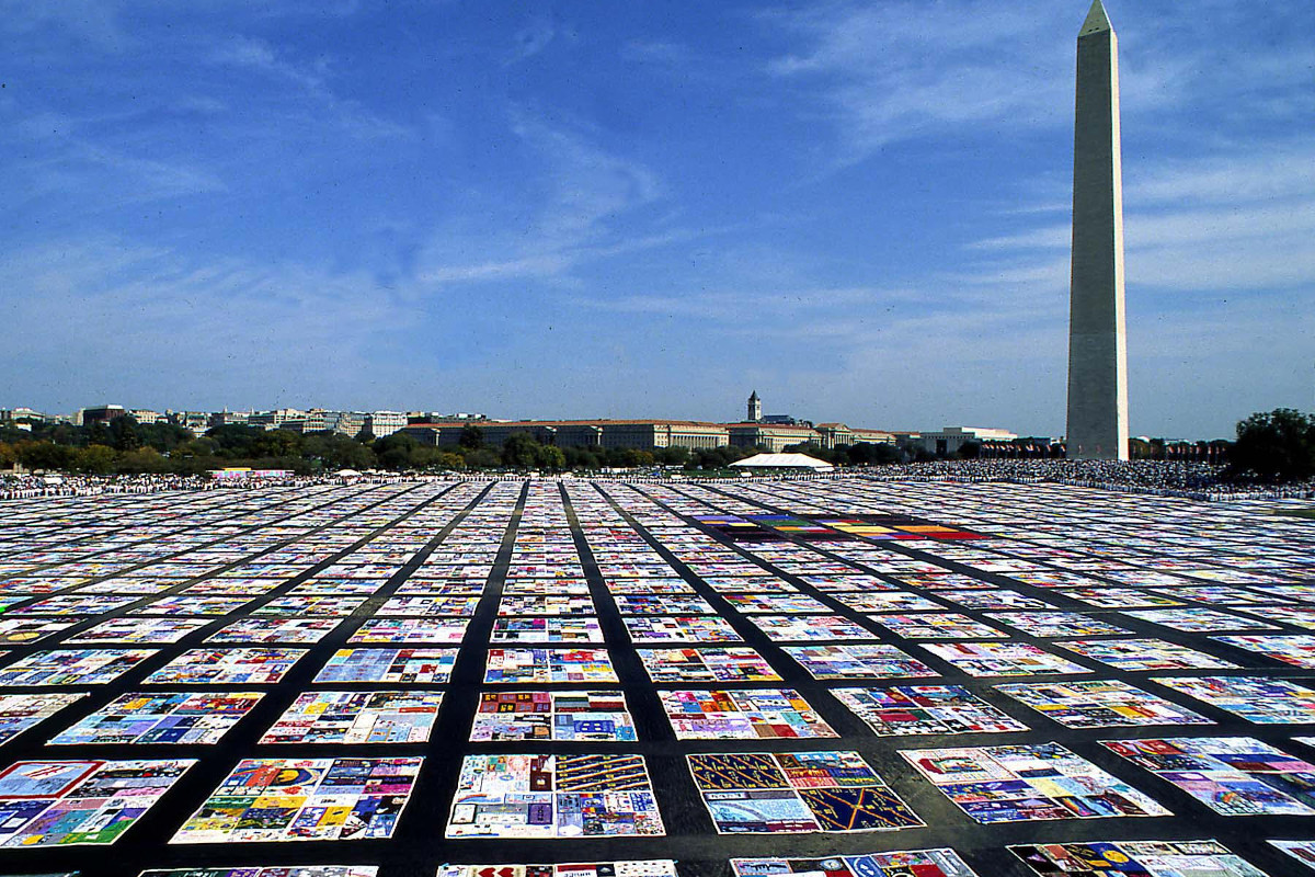 AIDS Memorial Quilt Opens Visitor Center In Atlanta Downtown