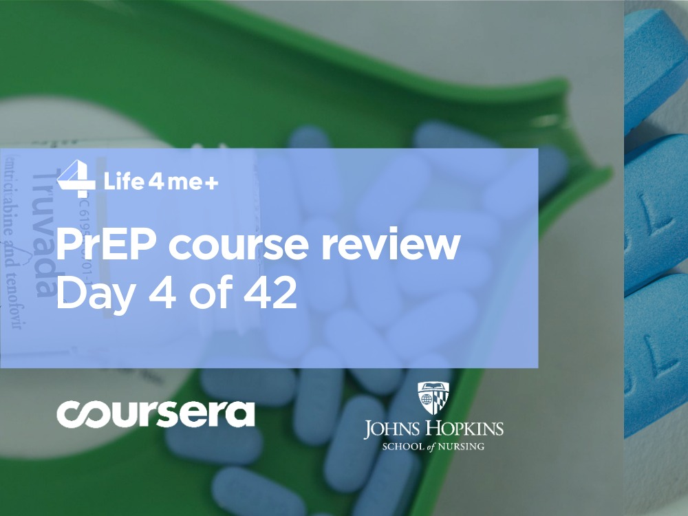 HIV Pre-Exposure Prophylaxis (PrEP) Online Course at Coursera Review. Day 4 of 42. - slika 1