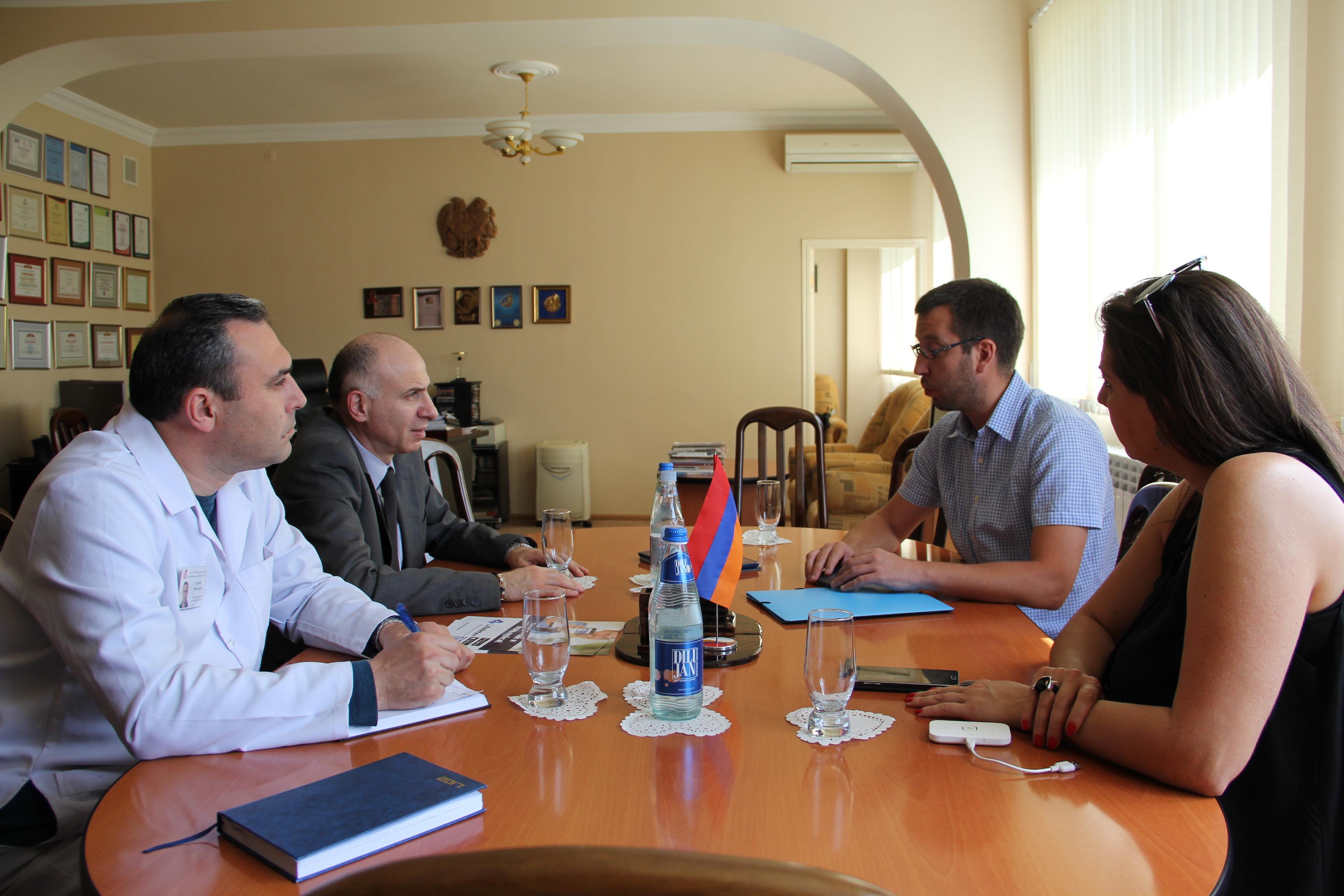 Центр СПИД Республики Армения поддержал идею внедрения Life4me+ в свою систему