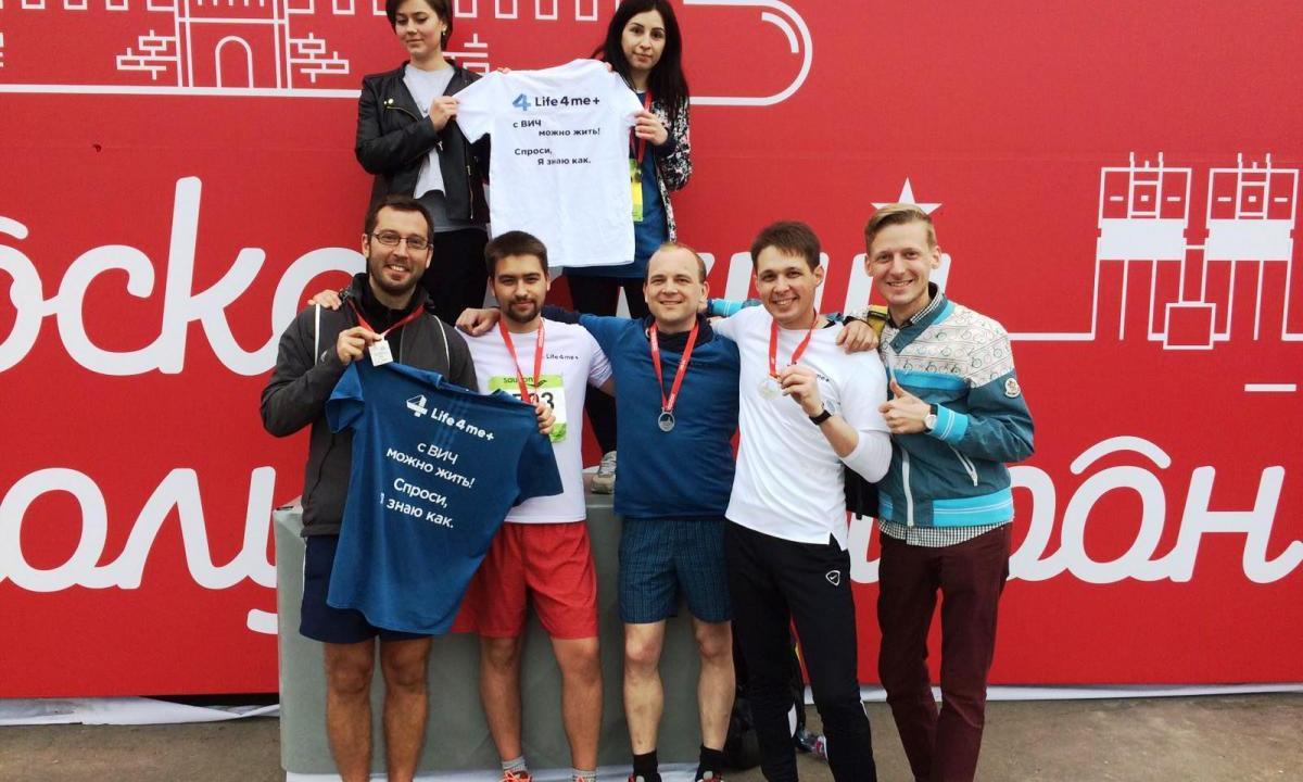 Life4me+ Team Took Part In The Moscow Half-Marathon