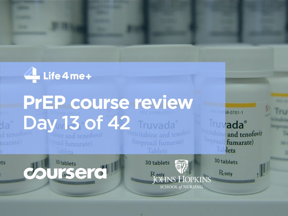 HIV Pre-Exposure Prophylaxis (PrEP) Online Course at Coursera Review. Day 13 of 42. - photo 1