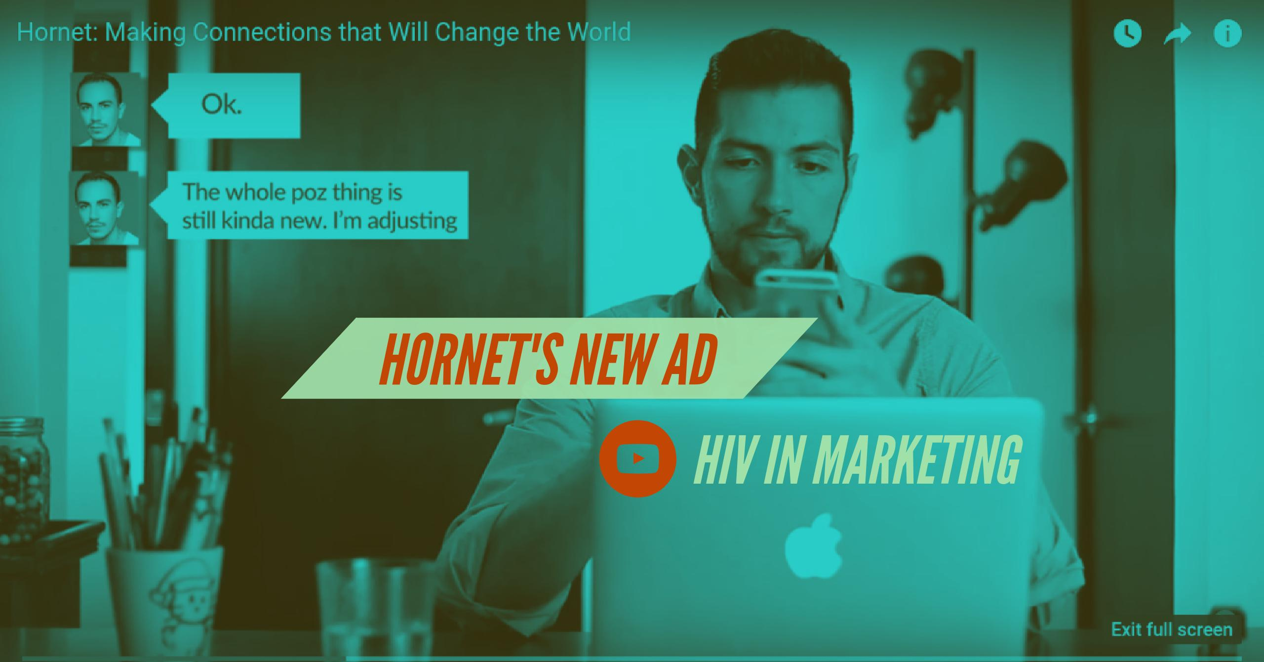 Hornet's New Ad Aiming to LGBTQ People Living With HIV Promotes Inclusive Dating