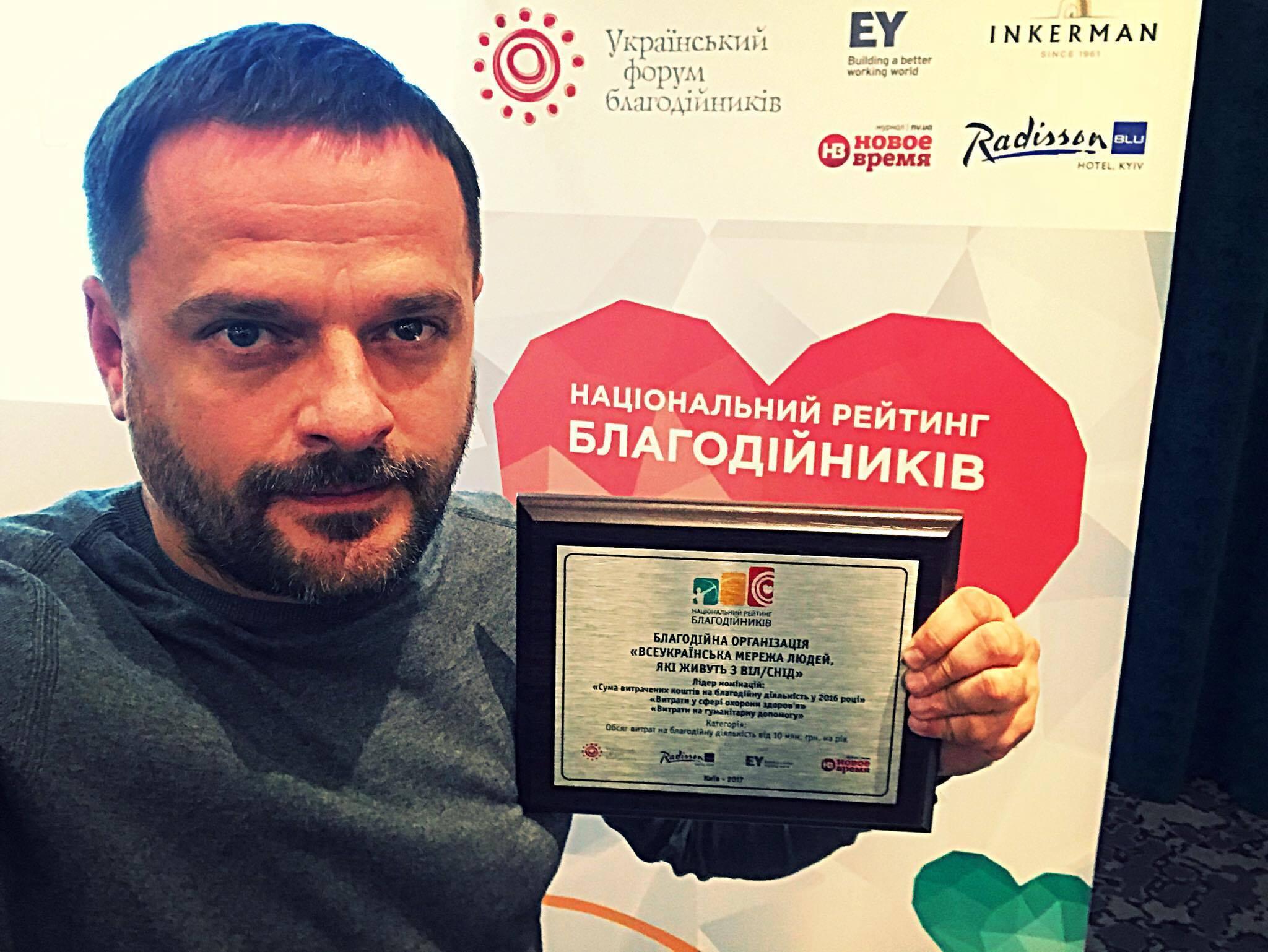 Сеть ЛЖВ возглавила рейтинг благотворителей Украины