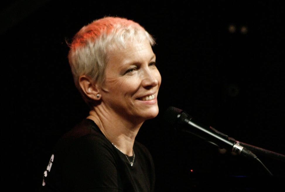 Annie Lennox promotes awareness about HIV and AIDS