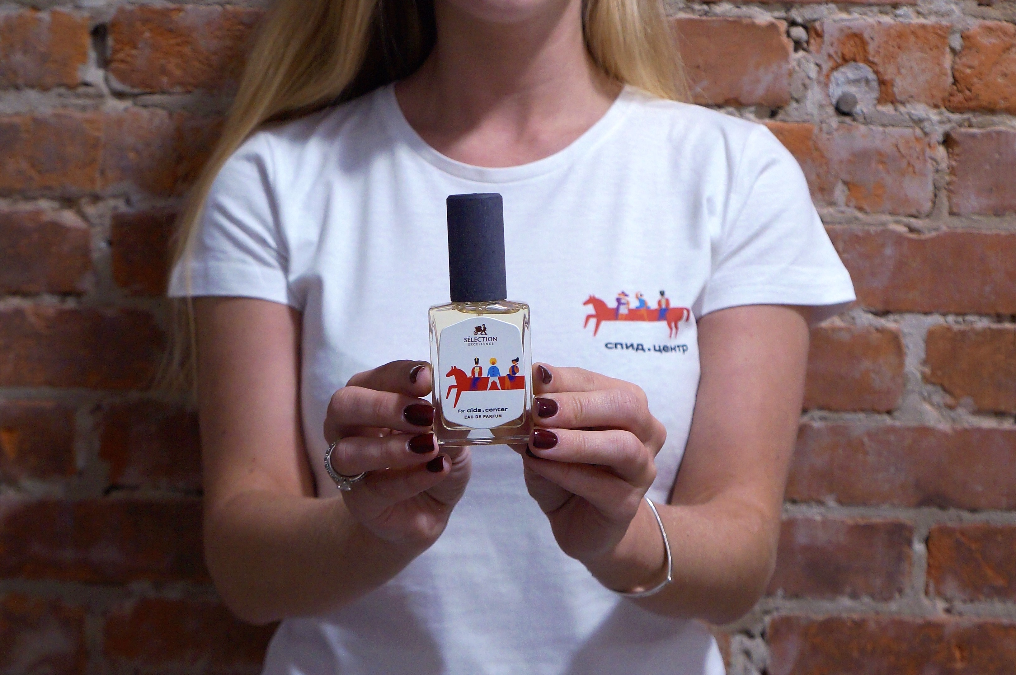 ВРоссии выпустили парфюм вподдержку борьбы соСПИДом