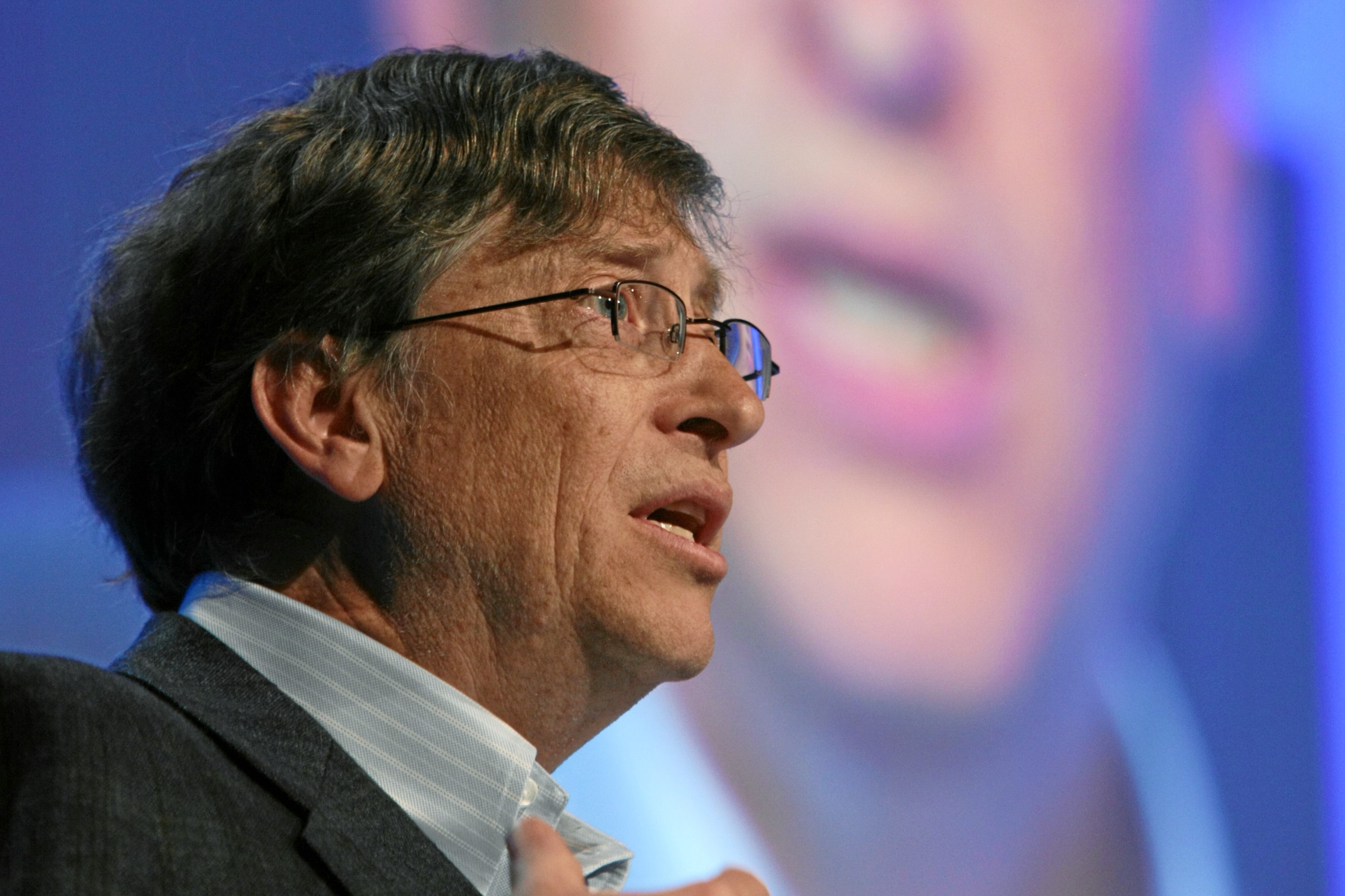 Gates urged capitalists to save lives