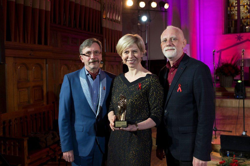 Активисты Латвии вручили награды за вклад в борьбу с ВИЧ