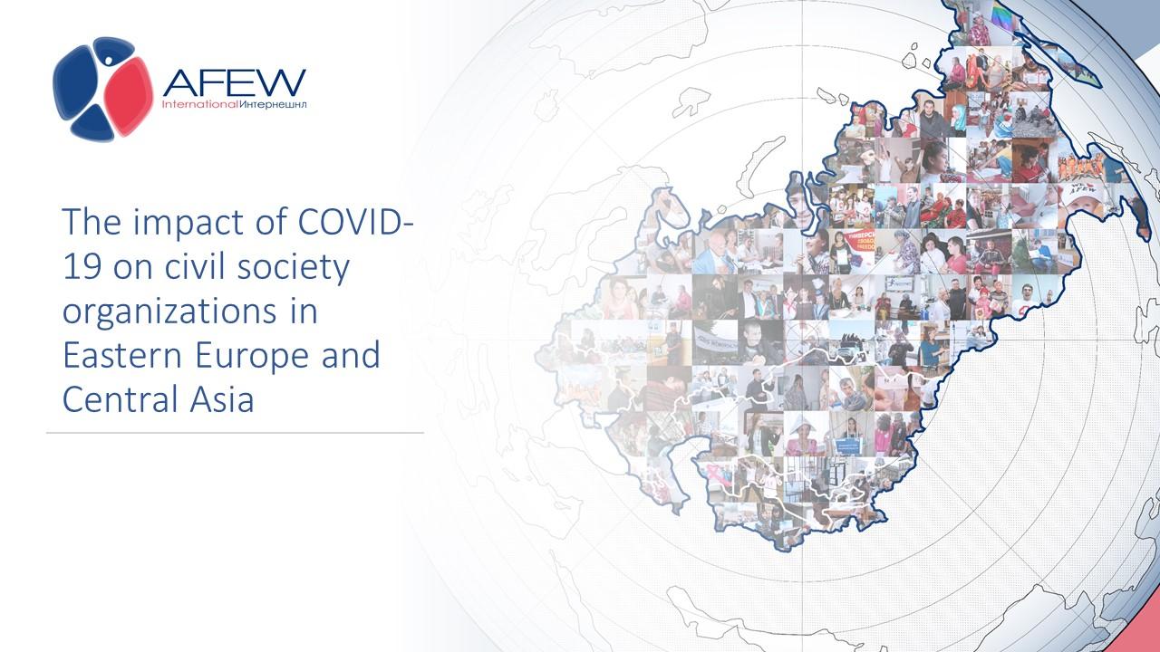 Влияние COVID-19 на работу общественных организаций в регионе ВЕЦА - изображение 1