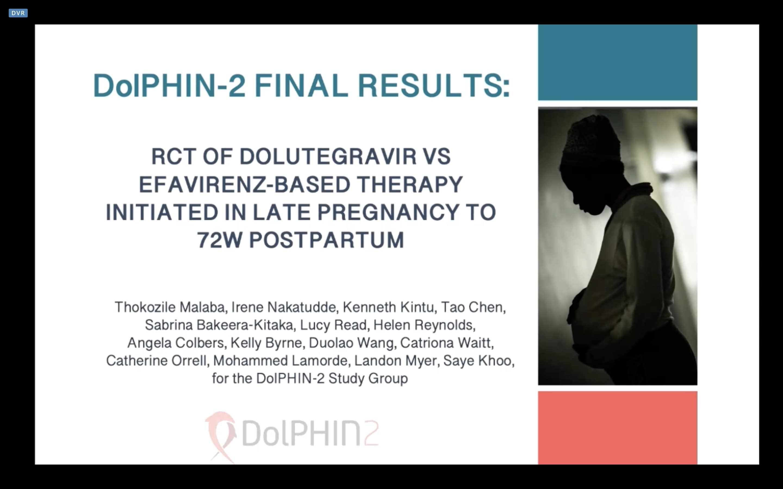 DolPHIN-2: финальные результаты наблюдения за беременными женщинами и младенцами спустя 72 недели