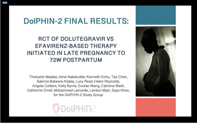 DolPHIN-2: Final follow-up of pregnant women and babies after 72 weeks